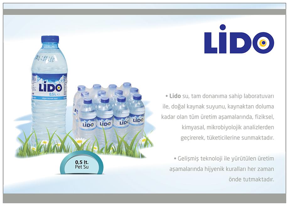 LİDO SU | 0.5 lt. Pet Water (12 pcs)